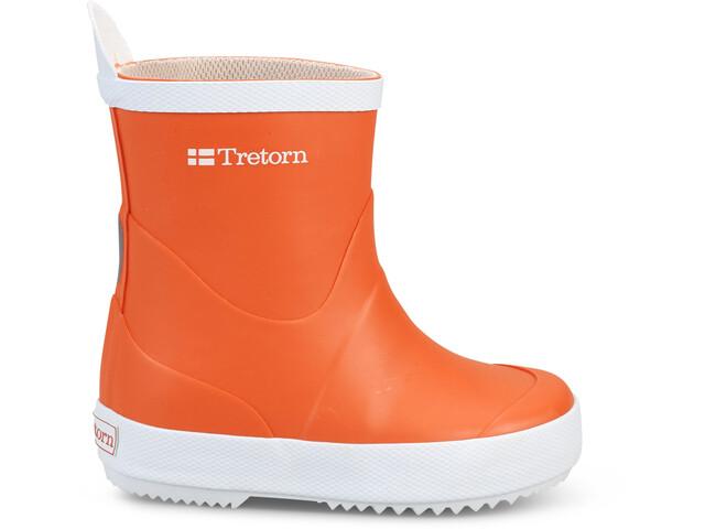 Tretorn Kids Wings Rubber Boots Orange